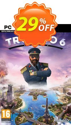 Tropico 6 PC - EU  Coupon discount Tropico 6 PC (EU) Deal - Tropico 6 PC (EU) Exclusive Easter Sale offer for iVoicesoft