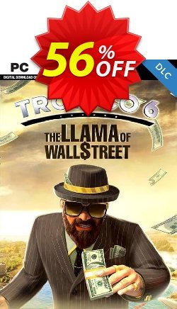 Tropico 6 PC - The Llama of Wall Street DLC Coupon discount Tropico 6 PC - The Llama of Wall Street DLC Deal - Tropico 6 PC - The Llama of Wall Street DLC Exclusive Easter Sale offer for iVoicesoft