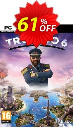 Tropico 6 PC - AUS/NZ  Coupon discount Tropico 6 PC (AUS/NZ) Deal - Tropico 6 PC (AUS/NZ) Exclusive Easter Sale offer for iVoicesoft