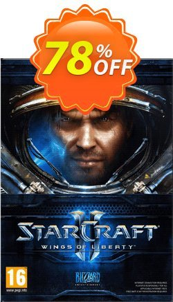 Starcraft II 2: Wings of Liberty - PC/Mac  Coupon discount Starcraft II 2: Wings of Liberty (PC/Mac) Deal - Starcraft II 2: Wings of Liberty (PC/Mac) Exclusive Easter Sale offer for iVoicesoft