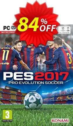 Pro Evolution Soccer - PES 2017 PC Coupon discount Pro Evolution Soccer (PES) 2017 PC Deal - Pro Evolution Soccer (PES) 2017 PC Exclusive Easter Sale offer for iVoicesoft