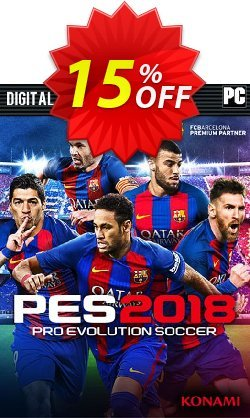 Pro Evolution Soccer - PES 2018 - Standard Edition PC Coupon discount Pro Evolution Soccer (PES) 2018 - Standard Edition PC Deal - Pro Evolution Soccer (PES) 2018 - Standard Edition PC Exclusive Easter Sale offer for iVoicesoft