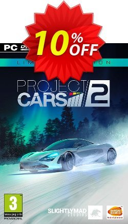 Project Cars 2 Limited Edition PC Coupon discount Project Cars 2 Limited Edition PC Deal - Project Cars 2 Limited Edition PC Exclusive Easter Sale offer for iVoicesoft