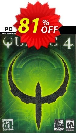 Quake 4 PC Coupon, discount Quake 4 PC Deal. Promotion: Quake 4 PC Exclusive Easter Sale offer for iVoicesoft