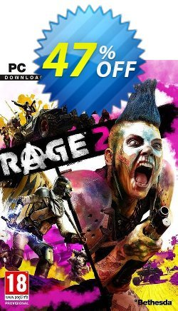 Rage 2 PC - US  Coupon discount Rage 2 PC (US) Deal - Rage 2 PC (US) Exclusive Easter Sale offer for iVoicesoft