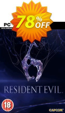 Resident Evil 6 PC - EU  Coupon discount Resident Evil 6 PC (EU) Deal - Resident Evil 6 PC (EU) Exclusive Easter Sale offer for iVoicesoft