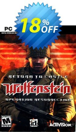 Return to Castle Wolfenstein PC Coupon discount Return to Castle Wolfenstein PC Deal - Return to Castle Wolfenstein PC Exclusive Easter Sale offer for iVoicesoft