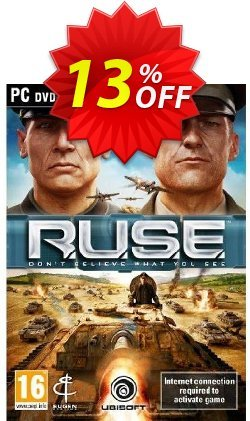 R.U.S.E - PC  Coupon discount R.U.S.E (PC) Deal. Promotion: R.U.S.E (PC) Exclusive Easter Sale offer for iVoicesoft