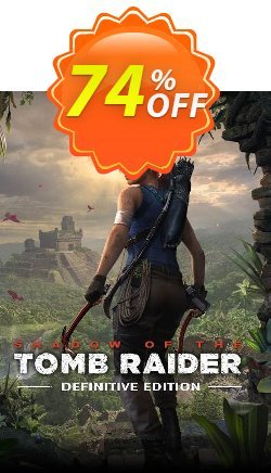 Shadow of the Tomb Raider - Definitive Edition PC Coupon discount Shadow of the Tomb Raider - Definitive Edition PC Deal - Shadow of the Tomb Raider - Definitive Edition PC Exclusive Easter Sale offer for iVoicesoft