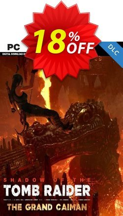 Shadow of the Tomb Raider - The Grand Caiman DLC PC Coupon discount Shadow of the Tomb Raider - The Grand Caiman DLC PC Deal - Shadow of the Tomb Raider - The Grand Caiman DLC PC Exclusive Easter Sale offer for iVoicesoft