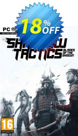 Shadow Tactics: Blades of the Shogun PC Coupon discount Shadow Tactics: Blades of the Shogun PC Deal - Shadow Tactics: Blades of the Shogun PC Exclusive Easter Sale offer for iVoicesoft