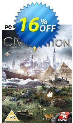 Sid Meier's Civilization V 5 - PC  Coupon discount Sid Meier's Civilization V 5 (PC) Deal - Sid Meier's Civilization V 5 (PC) Exclusive Easter Sale offer for iVoicesoft