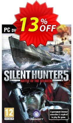 Silent Hunter 5 - PC  Coupon discount Silent Hunter 5 (PC) Deal - Silent Hunter 5 (PC) Exclusive Easter Sale offer for iVoicesoft
