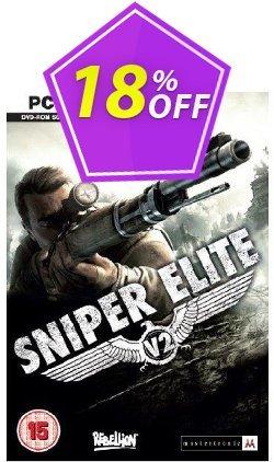 Sniper Elite V2 - PC  Coupon discount Sniper Elite V2 (PC) Deal - Sniper Elite V2 (PC) Exclusive Easter Sale offer for iVoicesoft