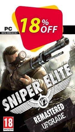 Sniper Elite V2 Remastered Upgrade PC Coupon discount Sniper Elite V2 Remastered Upgrade PC Deal - Sniper Elite V2 Remastered Upgrade PC Exclusive Easter Sale offer for iVoicesoft