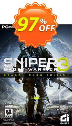 Sniper Ghost Warrior 3 Season Pass Edition PC Coupon discount Sniper Ghost Warrior 3 Season Pass Edition PC Deal - Sniper Ghost Warrior 3 Season Pass Edition PC Exclusive Easter Sale offer for iVoicesoft