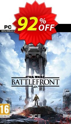 Star Wars: Battlefront PC - EN  Coupon discount Star Wars: Battlefront PC (EN) Deal - Star Wars: Battlefront PC (EN) Exclusive Easter Sale offer for iVoicesoft