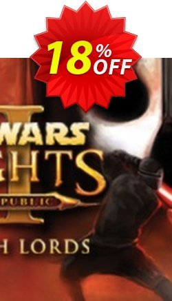 STAR WARS Knights of the Old Republic II The Sith Lords PC Coupon discount STAR WARS Knights of the Old Republic II The Sith Lords PC Deal - STAR WARS Knights of the Old Republic II The Sith Lords PC Exclusive Easter Sale offer for iVoicesoft