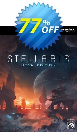 Stellaris Nova Edition PC Coupon discount Stellaris Nova Edition PC Deal - Stellaris Nova Edition PC Exclusive Easter Sale offer for iVoicesoft