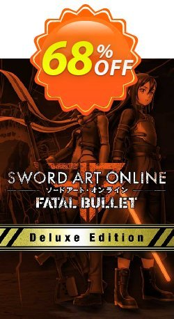 Sword Art Online Fatal Bullet Deluxe Edition PC Coupon discount Sword Art Online Fatal Bullet Deluxe Edition PC Deal - Sword Art Online Fatal Bullet Deluxe Edition PC Exclusive Easter Sale offer for iVoicesoft