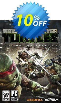 Teenage Mutant Ninja Turtles: Out of the Shadows PC Coupon discount Teenage Mutant Ninja Turtles: Out of the Shadows PC Deal - Teenage Mutant Ninja Turtles: Out of the Shadows PC Exclusive Easter Sale offer for iVoicesoft