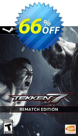 TEKKEN 7 - Rematch Edition PC Coupon discount TEKKEN 7 - Rematch Edition PC Deal - TEKKEN 7 - Rematch Edition PC Exclusive Easter Sale offer for iVoicesoft