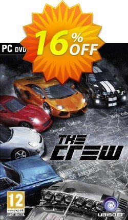 The Crew PC Coupon discount The Crew PC Deal - The Crew PC Exclusive Easter Sale offer for iVoicesoft