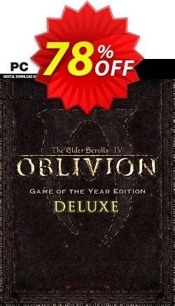 The Elder Scrolls IV 4 Oblivion® Game of the Year Edition Deluxe PC Coupon discount The Elder Scrolls IV 4 Oblivion® Game of the Year Edition Deluxe PC Deal - The Elder Scrolls IV 4 Oblivion® Game of the Year Edition Deluxe PC Exclusive Easter Sale offer for iVoicesoft