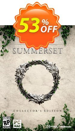 The Elder Scrolls Online Summerset Collectors Edition PC Coupon discount The Elder Scrolls Online Summerset Collectors Edition PC Deal - The Elder Scrolls Online Summerset Collectors Edition PC Exclusive Easter Sale offer for iVoicesoft