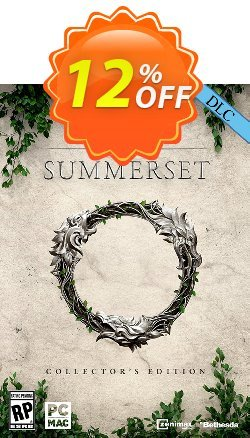 The Elder Scrolls Online Summerset Collectors Edition Upgrade PC Coupon discount The Elder Scrolls Online Summerset Collectors Edition Upgrade PC Deal - The Elder Scrolls Online Summerset Collectors Edition Upgrade PC Exclusive Easter Sale offer for iVoicesoft