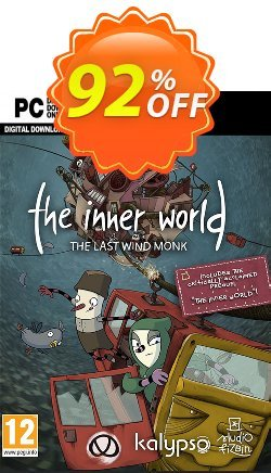 The Inner World - The Last Wind Monk PC Coupon discount The Inner World - The Last Wind Monk PC Deal - The Inner World - The Last Wind Monk PC Exclusive Easter Sale offer for iVoicesoft