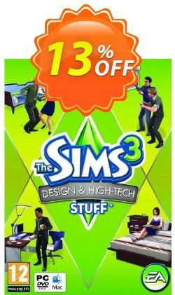 The Sims 3: Design and Hi-Tech Stuff - PC/Mac  Coupon discount The Sims 3: Design and Hi-Tech Stuff (PC/Mac) Deal - The Sims 3: Design and Hi-Tech Stuff (PC/Mac) Exclusive Easter Sale offer for iVoicesoft