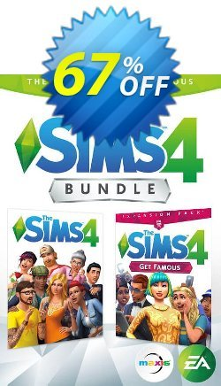 The Sims 4 - Get Famous Bundle PC Coupon discount The Sims 4 - Get Famous Bundle PC Deal - The Sims 4 - Get Famous Bundle PC Exclusive Easter Sale offer for iVoicesoft