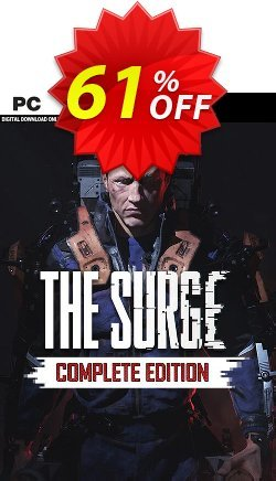 The Surge Complete Edition PC Coupon discount The Surge Complete Edition PC Deal - The Surge Complete Edition PC Exclusive Easter Sale offer for iVoicesoft
