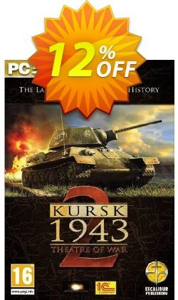 Theatre of War 2: Kursk - PC  Coupon discount Theatre of War 2: Kursk (PC) Deal - Theatre of War 2: Kursk (PC) Exclusive Easter Sale offer for iVoicesoft