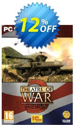 Theatre of War 3: Korea - PC  Coupon discount Theatre of War 3: Korea (PC) Deal - Theatre of War 3: Korea (PC) Exclusive Easter Sale offer for iVoicesoft