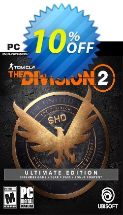 Tom Clancy's The Division 2 Ultimate Edition PC Coupon discount Tom Clancy's The Division 2 Ultimate Edition PC Deal - Tom Clancy's The Division 2 Ultimate Edition PC Exclusive Easter Sale offer for iVoicesoft