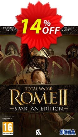 Total War: Rome II 2 – Spartan Edition PC Coupon discount Total War: Rome II 2 – Spartan Edition PC Deal - Total War: Rome II 2 – Spartan Edition PC Exclusive Easter Sale offer for iVoicesoft