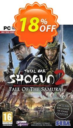 Total War Shogun 2 : Fall Of The Samurai - PC  Coupon discount Total War Shogun 2 : Fall Of The Samurai (PC) Deal - Total War Shogun 2 : Fall Of The Samurai (PC) Exclusive Easter Sale offer for iVoicesoft
