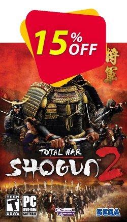 Total War Shogun 2 PC Coupon discount Total War Shogun 2 PC Deal - Total War Shogun 2 PC Exclusive Easter Sale offer for iVoicesoft