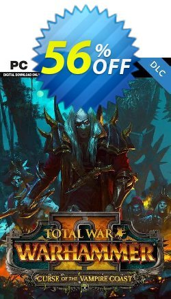 Total War Warhammer II 2 PC - Curse of the Vampire Coast DLC - WW  Coupon discount Total War Warhammer II 2 PC - Curse of the Vampire Coast DLC (WW) Deal - Total War Warhammer II 2 PC - Curse of the Vampire Coast DLC (WW) Exclusive Easter Sale offer for iVoicesoft