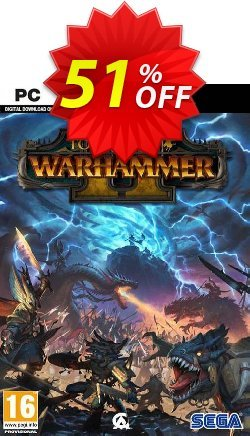 Total War: Warhammer II 2 PC - WW  Coupon discount Total War: Warhammer II 2 PC (WW) Deal - Total War: Warhammer II 2 PC (WW) Exclusive Easter Sale offer for iVoicesoft