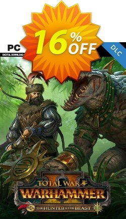 Total War: WARHAMMER II 2 PC - The Hunter & The Beast DLC - US  Coupon discount Total War: WARHAMMER II 2 PC - The Hunter & The Beast DLC (US) Deal - Total War: WARHAMMER II 2 PC - The Hunter & The Beast DLC (US) Exclusive Easter Sale offer for iVoicesoft