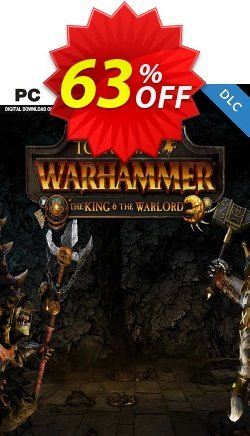 Total War WARHAMMER – The King and the Warlord DLC Coupon discount Total War WARHAMMER – The King and the Warlord DLC Deal - Total War WARHAMMER – The King and the Warlord DLC Exclusive Easter Sale offer for iVoicesoft