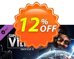 Tropico 5 Supervillain PC Coupon discount Tropico 5 Supervillain PC Deal - Tropico 5 Supervillain PC Exclusive Easter Sale offer for iVoicesoft