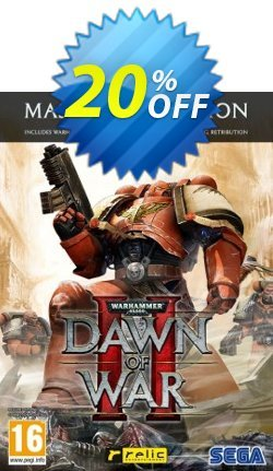 Warhammer 40.000 Dawn of War II 2 Master Collection PC Coupon discount Warhammer 40.000 Dawn of War II 2 Master Collection PC Deal - Warhammer 40.000 Dawn of War II 2 Master Collection PC Exclusive Easter Sale offer for iVoicesoft