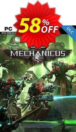 Warhammer 40,000 Mechanicus - Heretek DLC PC Coupon discount Warhammer 40,000 Mechanicus - Heretek DLC PC Deal - Warhammer 40,000 Mechanicus - Heretek DLC PC Exclusive Easter Sale offer for iVoicesoft