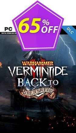 Warhammer Vermintide 2 PC - Back to Ubersreik DLC Coupon discount Warhammer Vermintide 2 PC - Back to Ubersreik DLC Deal - Warhammer Vermintide 2 PC - Back to Ubersreik DLC Exclusive Easter Sale offer for iVoicesoft