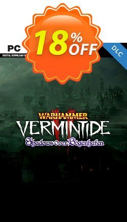 Warhammer: Vermintide 2 PC - Shadows Over Bögenhafen DLC Coupon discount Warhammer: Vermintide 2 PC - Shadows Over Bögenhafen DLC Deal - Warhammer: Vermintide 2 PC - Shadows Over Bögenhafen DLC Exclusive Easter Sale offer for iVoicesoft
