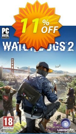 Watch Dogs 2 PC - Asia  Coupon discount Watch Dogs 2 PC (Asia) Deal - Watch Dogs 2 PC (Asia) Exclusive Easter Sale offer for iVoicesoft